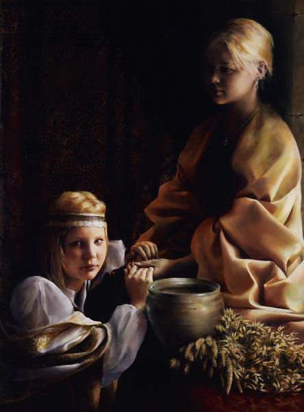 The Trial Of Faith - 14 x 20 giclée on canvas (pre-mounted) by Elspeth Young