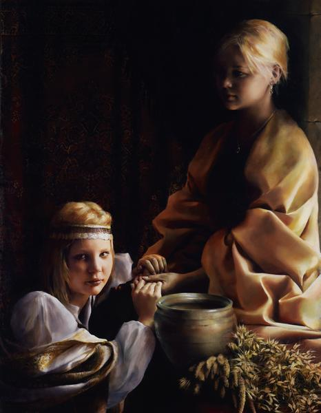 The Trial Of Faith - 14 x 18 giclée on canvas (pre-mounted) by Elspeth Young