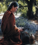 She Is Come Aforehand - 18 x 21.25 print
