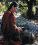 She Is Come Aforehand - 20 x 24 print