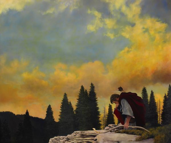 And My Soul Hungered - 20 x 24 giclée on canvas (unmounted) by Al Young