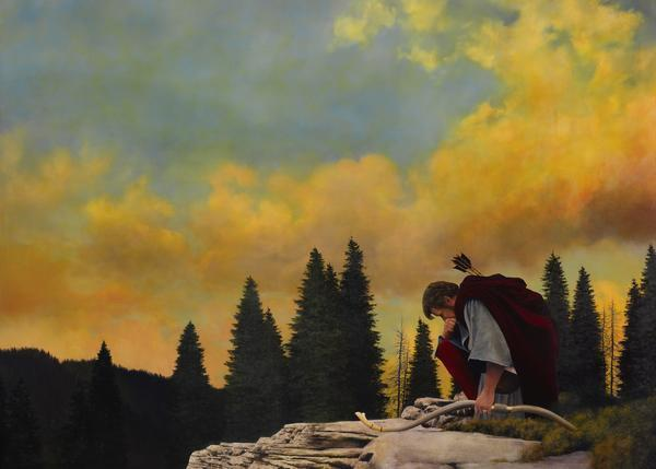 And My Soul Hungered - 20 x 28 giclée on canvas (unmounted) by Al Young