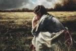 As A Sparrow Alone - 20 x 30 giclée on canvas (unmounted)
