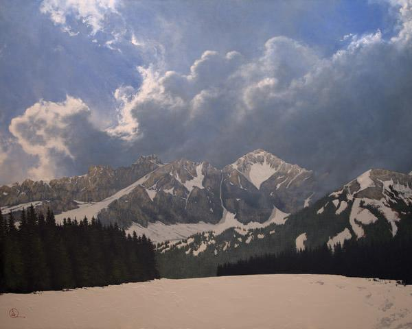 Den Kommende Våren - 16 x 20 giclée on canvas (pre-mounted) by Al Young