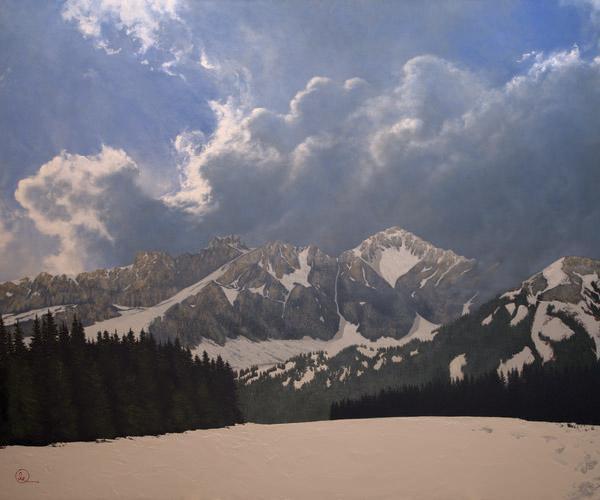 Den Kommende Våren - 20 x 24 giclée on canvas (unmounted) by Al Young