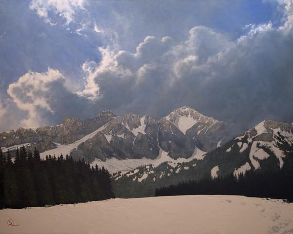 Den Kommende Våren - 24 x 30 giclée on canvas (unmounted) by Al Young