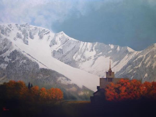 Den Kommende Vinteren - 30 x 40 print by Al Young