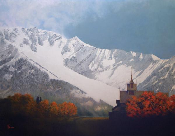 Den Kommende Vinteren - 14 x 18 giclée on canvas (pre-mounted) by Al Young