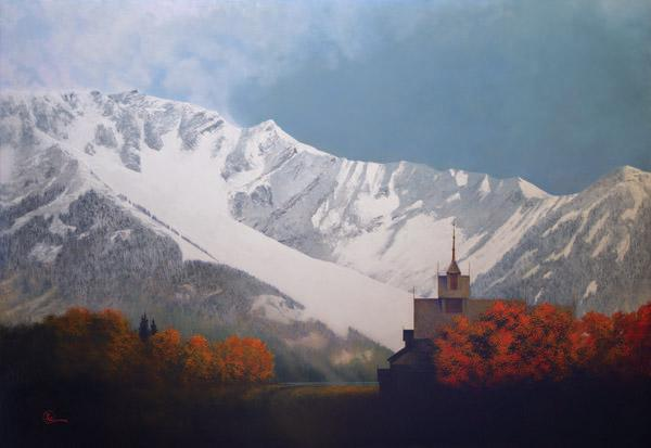 Den Kommende Vinteren - 16 x 23.25 giclée on canvas (pre-mounted) by Al Young