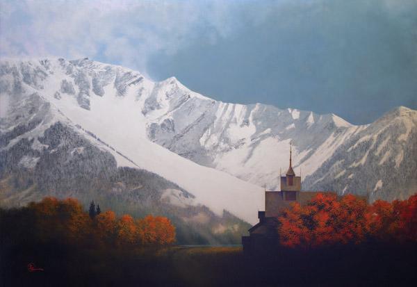 Den Kommende Vinteren - 20 x 29 giclée on canvas (unmounted) by Al Young
