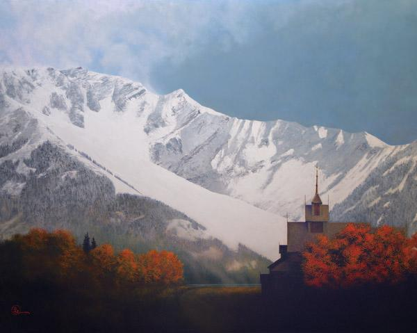 Den Kommende Vinteren - 24 x 30 giclée on canvas (unmounted) by Al Young