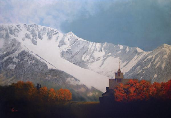 Den Kommende Vinteren - 24 x 34.75 giclée on canvas (unmounted) by Al Young