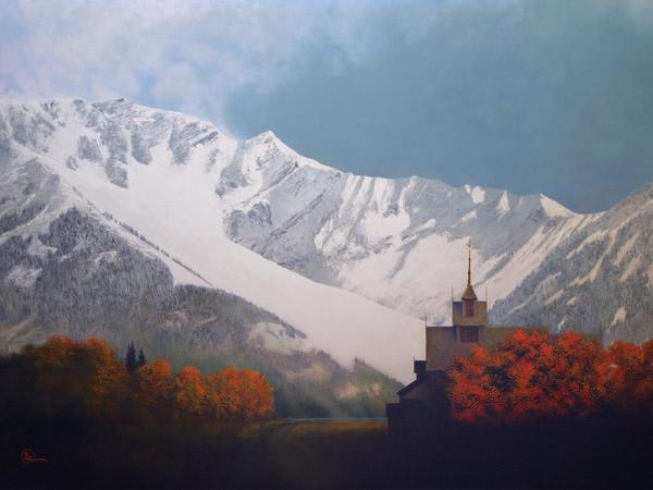 Den Kommende Vinteren - 30 x 40 giclée on canvas (unmounted) by Al Young