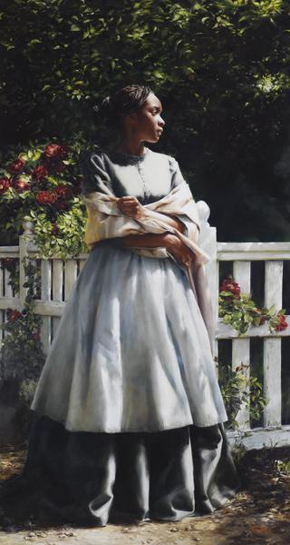 Till We Meet Again - 20 x 37.5 giclée on canvas (unmounted) by Elspeth Young