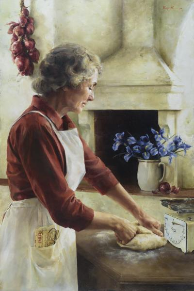 A Labor Of Love - 24 x 36 giclée on canvas (unmounted) by Elspeth Young