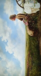 If God So Clothe The Field - 33.375 x 60 giclée on canvas (unmounted)