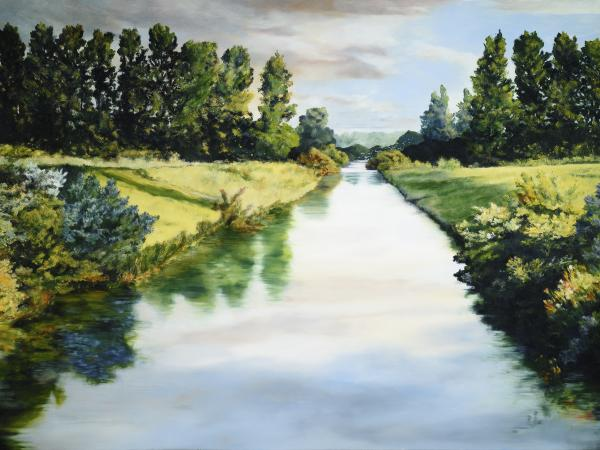 Peace Like A River - 18 x 24 giclée on canvas (pre-mounted) by Ashton Young