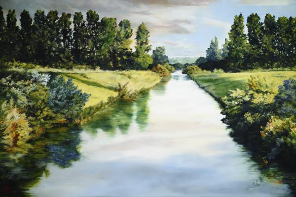 Peace Like A River - 20 x 30 giclée on canvas (unmounted) by Ashton Young