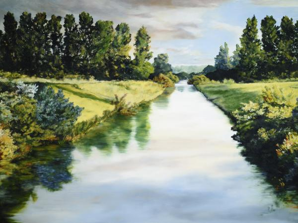 Peace Like A River - 30 x 40 giclée on canvas (unmounted) by Ashton Young