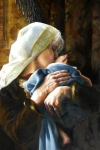 Is Anything Too Hard For The Lord - 20 x 30 giclée on canvas (unmounted)