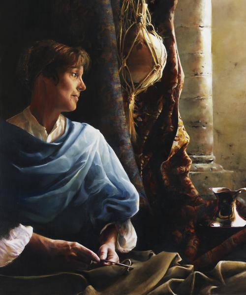 Forsaking All - 20 x 24 giclée on canvas (unmounted) by Elspeth Young