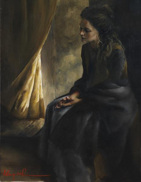 What Is To Be Done For Thee - 14 x 18 giclée on canvas (pre-mounted) by Elspeth Young