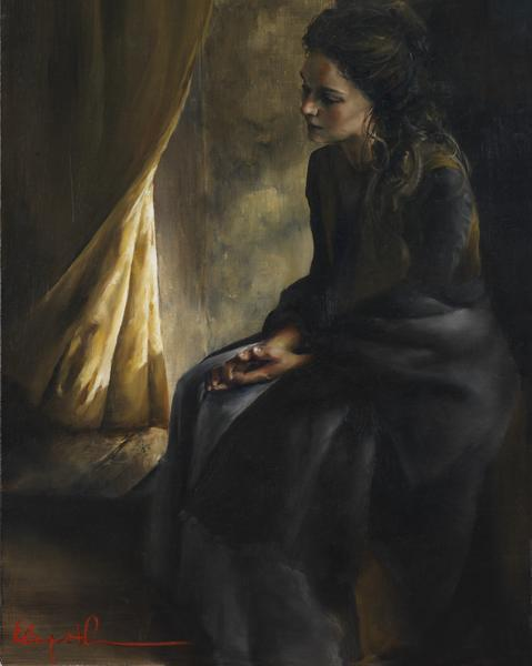 What Is To Be Done For Thee - 16 x 20 giclée on canvas (pre-mounted) by Elspeth Young