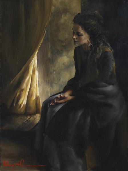 What Is To Be Done For Thee - 18 x 24 giclée on canvas (pre-mounted) by Elspeth Young