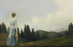 Mountain Home - 15.5 x 24 giclée on canvas (pre-mounted)