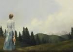 Mountain Home - 20 x 28 giclée on canvas (unmounted)