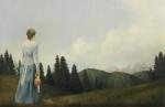 Mountain Home - 23.75 x 36.5 giclée on canvas (unmounted)