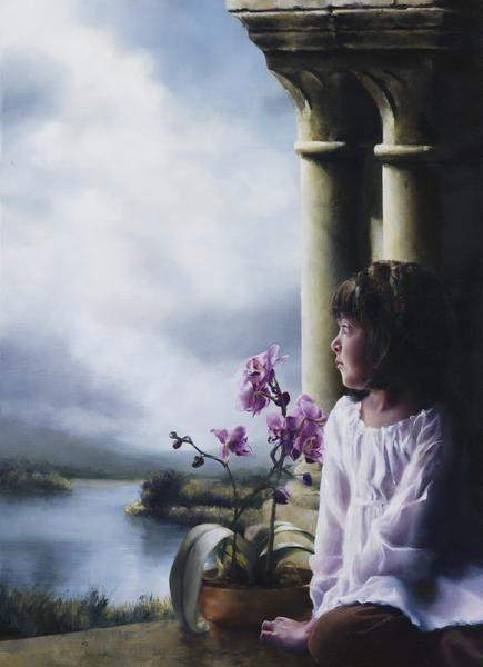The Seed Of Faith - 16 x 22 giclée on canvas (pre-mounted) by Elspeth Young