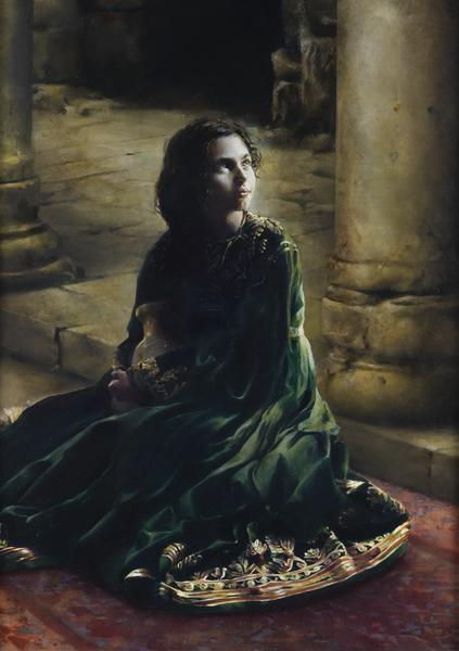 According To Thy Word - 24 x 34 giclée on canvas (unmounted) by Elspeth Young