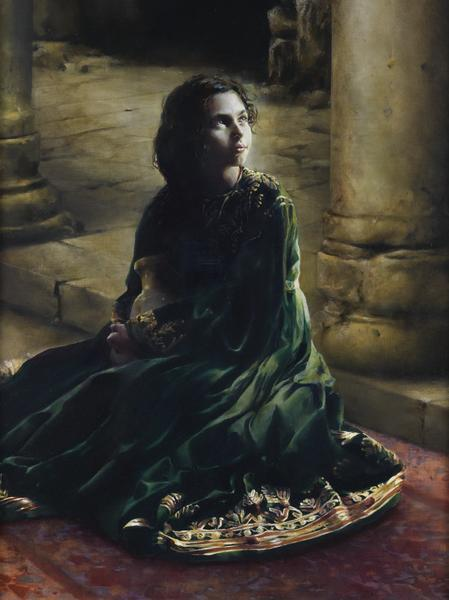 According To Thy Word - 18 x 24 giclée on canvas (pre-mounted) by Elspeth Young