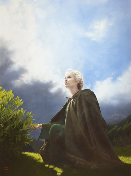 The Mother Of All Living - 16 x 21.5 giclée on canvas (pre-mounted) by Al Young