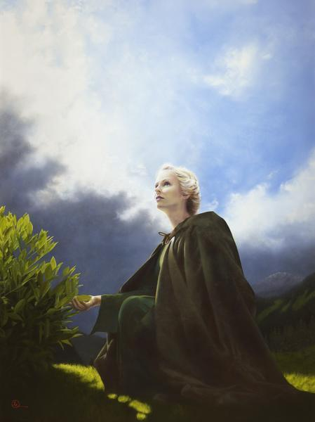 The Mother Of All Living - 18 x 24 giclée on canvas (pre-mounted) by Al Young