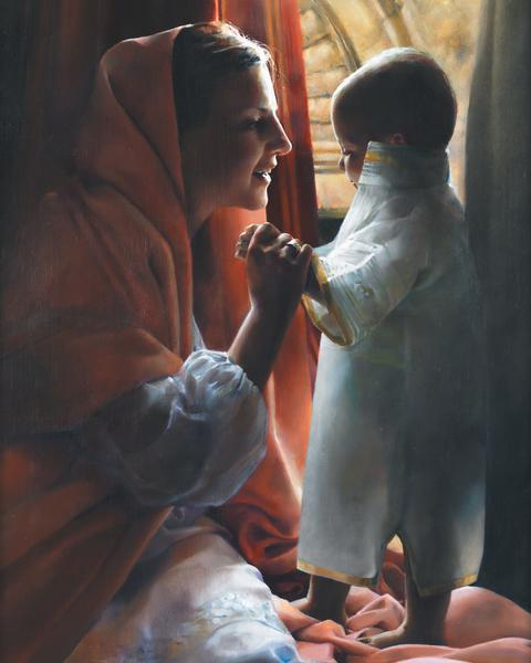 For This Child I Prayed - 24 x 30 print by Elspeth Young