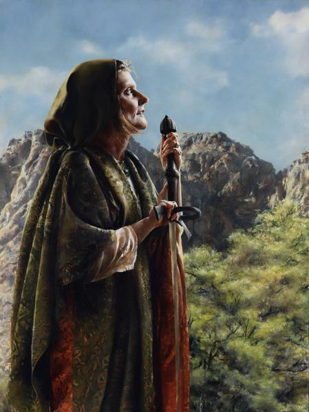 I Arose A Mother In Israel - 12 x 16 giclée on canvas (pre-mounted) by Elspeth Young
