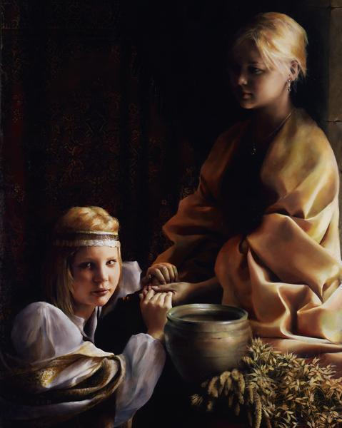 The Trial Of Faith - 24 x 30 giclée on canvas (unmounted) by Elspeth Young