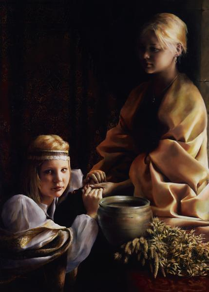 The Trial Of Faith - 20 x 28 giclée on canvas (unmounted) by Elspeth Young