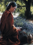 She Is Come Aforehand - 18 x 24 print