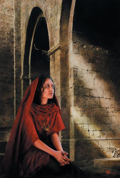 The Miracle Of Forgiveness - 30 x 44.25 print by Al Young