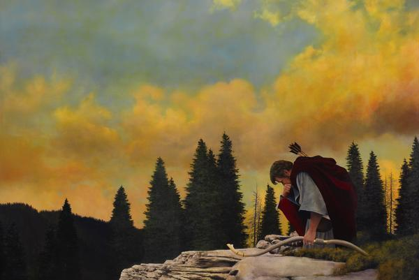 And My Soul Hungered - 24 x 36 giclée on canvas (unmounted) by Al Young