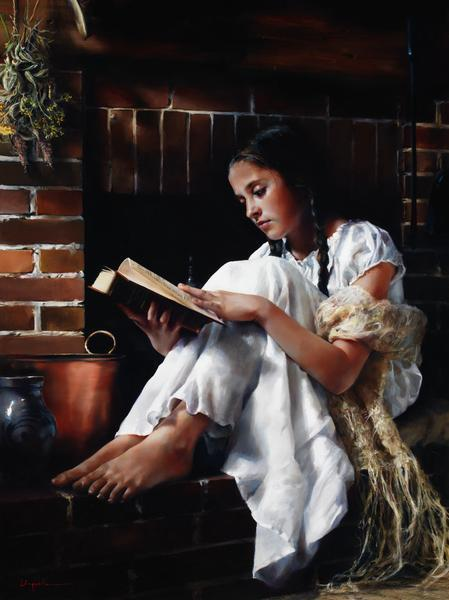 The Treasure - 18 x 24 giclée on canvas (pre-mounted) by Elspeth Young