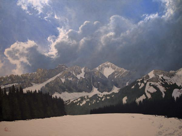 Den Kommende Våren - 18 x 24 giclée on canvas (pre-mounted) by Al Young