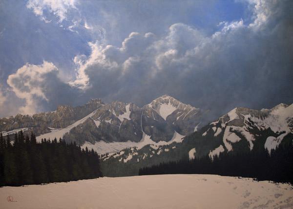 Den Kommende Våren - 20 x 28 giclée on canvas (unmounted) by Al Young