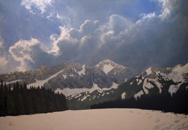 Den Kommende Våren - 30 x 43.5 giclée on canvas (unmounted) by Al Young