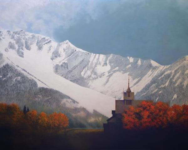 Den Kommende Vinteren - 24 x 30 print by Al Young