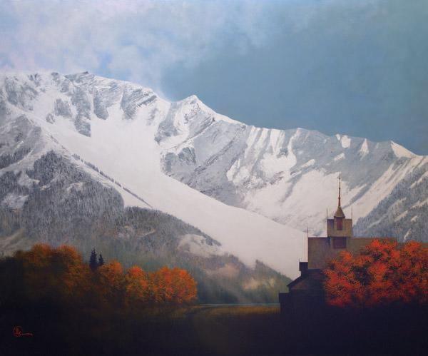 Den Kommende Vinteren - 20 x 24 giclée on canvas (unmounted) by Al Young