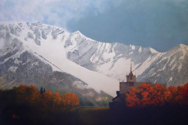Den Kommende Vinteren - 24 x 36 giclée on canvas (unmounted) by Al Young